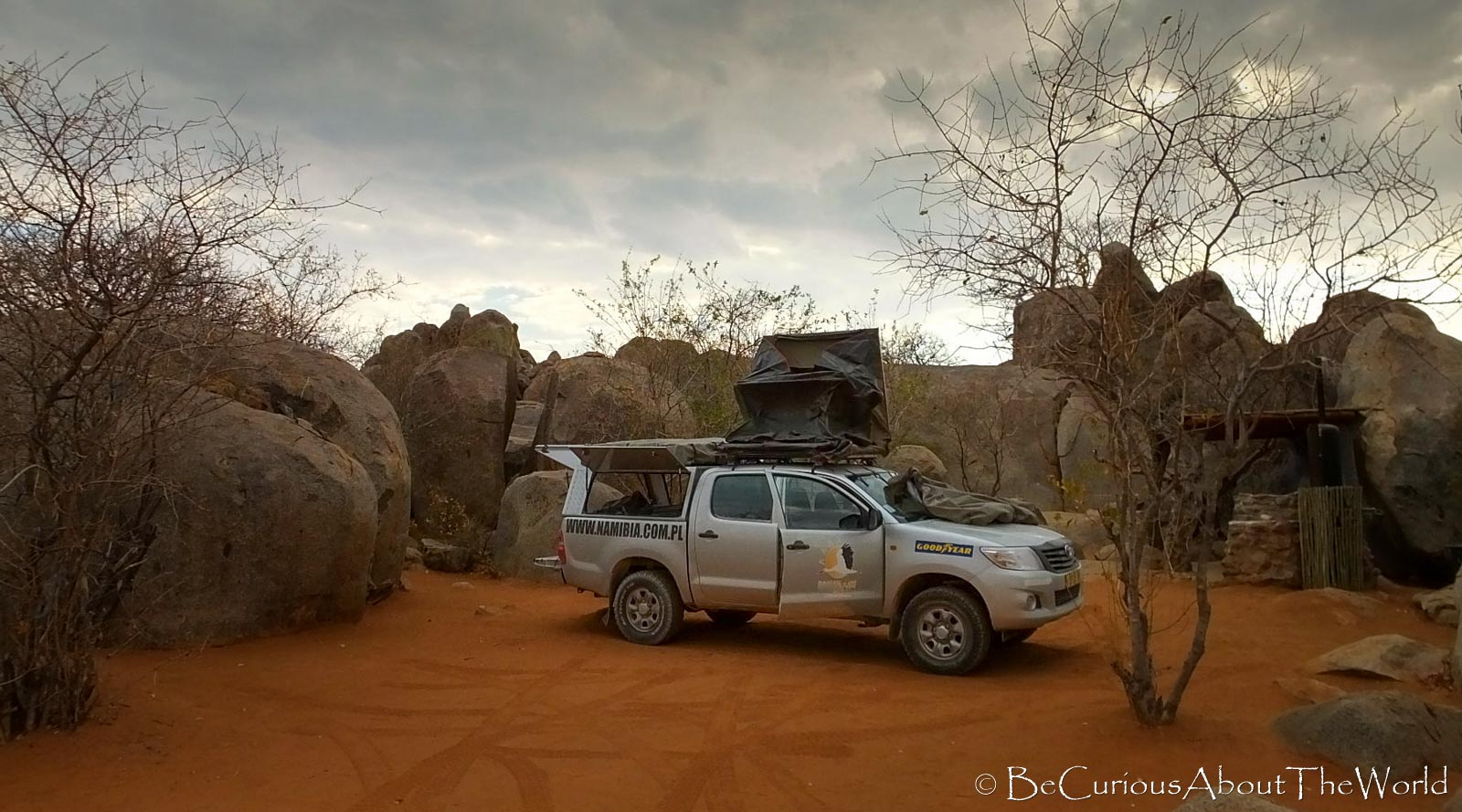 BeCuriousAboutTheWorld - 4x4 rental car Africa